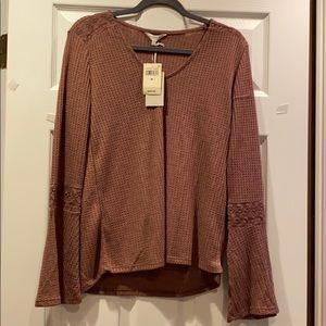 NWT Lucky Brand long sleeve shirt!